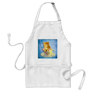 Kiddie in a cup apron. adult apron
