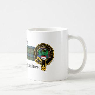 Kiddie Scottish Crest and Tartan mug