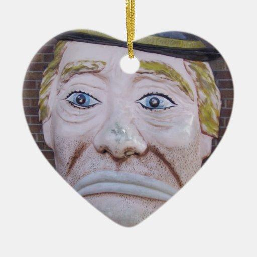 Kiddieland Sad Clown Christmas Ornament