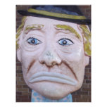 Kiddieland Sad Clown Customized Letterhead