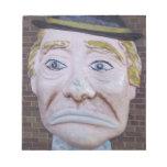 Kiddieland Sad Clown Note Pad