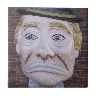 Kiddieland Sad Clown Tile