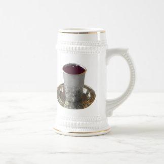Kiddush Cup, Challah, & Challah Knife Beer Stein