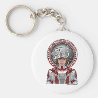 Kiddwell + GS Juniors Badge Basic Round Button Keychain
