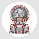 Kiddwell + GS Juniors Badge Round Stickers