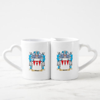 Kiddy Coat of Arms - Family Crest Couples' Coffee Mug Set