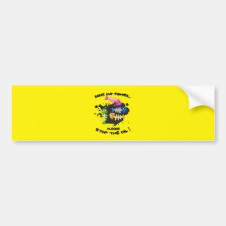 KIDFISHYlarge Bumper Sticker