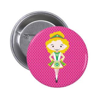 KIDLETS :: irish dancer blonde Pins