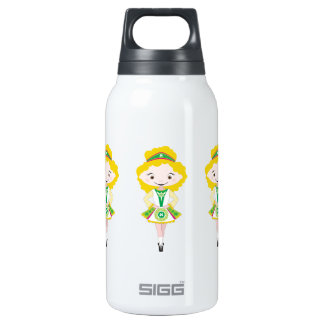 KIDLETS irish dancer dancing troupe blonde hair Insulated Water Bottle