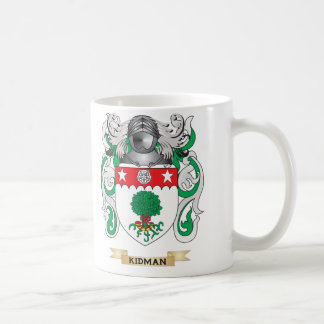 Kidman Coat of Arms Family Crest Coffee Mugs
