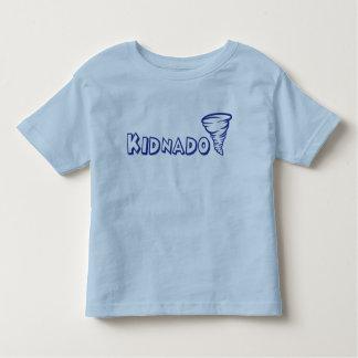 Kidnado Toddler T-Shirt Blue Schoolhouse Font
