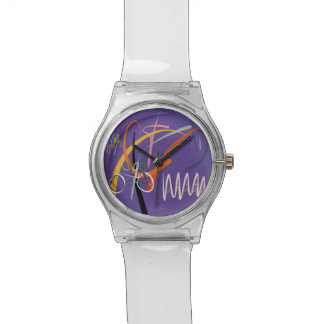 """Kidnap Of A Non Imprisionable Future"" Wristwatch"