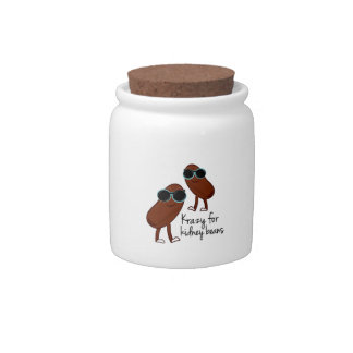 Kidney Beans Candy Jars