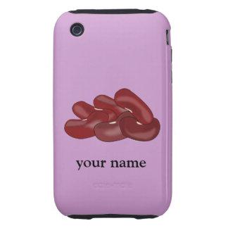 Kidney Beans Personalised Vegetarian Vegan iphone Tough iPhone 3 Case