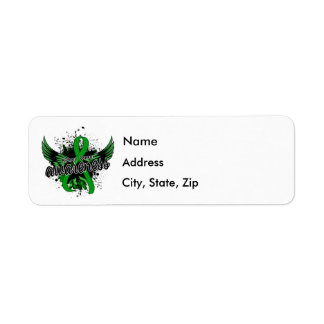 Kidney Cancer Awareness 16 (Green) Label
