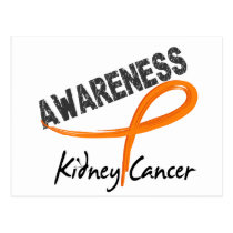 Kidney Cancer Awareness 3 Postcard