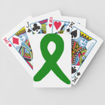 Kidney Cancer Awareness Bicycle Playing Cards