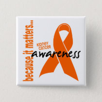 Kidney Cancer Awareness Button