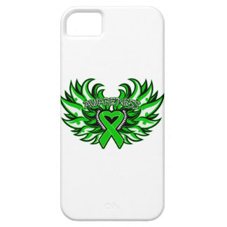 Kidney Cancer Awareness Heart Wings iPhone SE/5/5s Case
