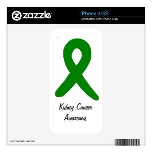 Kidney Cancer Awareness iPhone 4S Skin