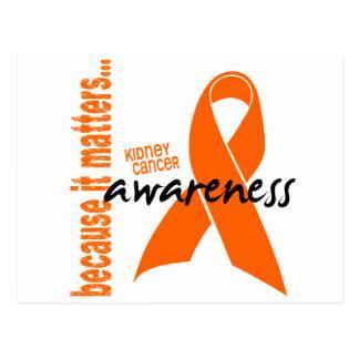 Kidney Cancer Awareness Postcard