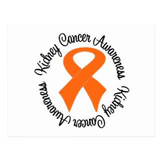 Kidney Cancer Awareness Ribbon Postcard