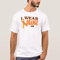 Kidney Cancer awareness Ribbon Template Shirt