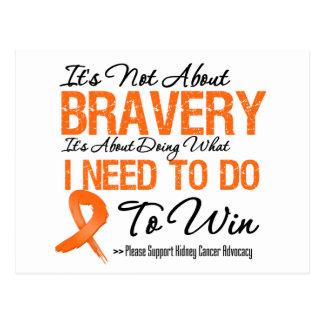 Kidney Cancer Battle v1 Postcard