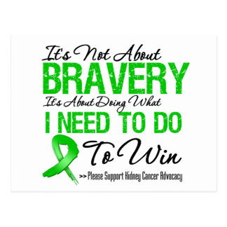 Kidney Cancer Battle v2 Postcard