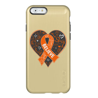 Kidney Cancer Believe Ribbon Heart v2 Incipio Feather® Shine iPhone 6 Case