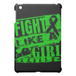 Kidney Cancer BurnOut Fight Like a Girl iPad Mini Cover