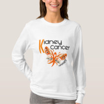 Kidney Cancer BUTTERFLY 3 T-Shirt