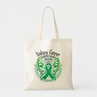 Kidney Cancer Butterfly 3 Tote Bag