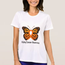 Kidney Cancer Butterfly of Hope T-Shirt