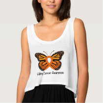 Kidney Cancer Butterfly of Hope Tank Top