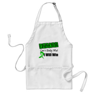 Kidney Cancer Cant Bully Me I Will Win (Green) Apron