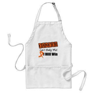Kidney Cancer Cant Bully Me I Will Win ( Orange) Aprons