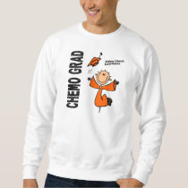 Kidney Cancer CHEMO GRAD 1 Sweatshirt