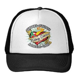 Kidney Cancer Classic Heart Trucker Hat