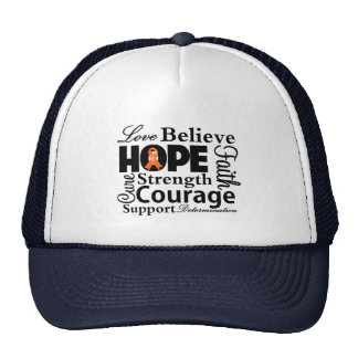 Kidney Cancer Collage of Hope 2 Trucker Hat