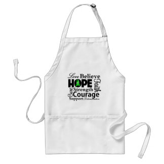 Kidney Cancer Collage of Hope Apron
