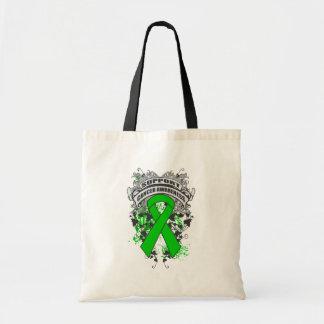 Kidney Cancer - Cool Support Awareness Slogan Canvas Bag