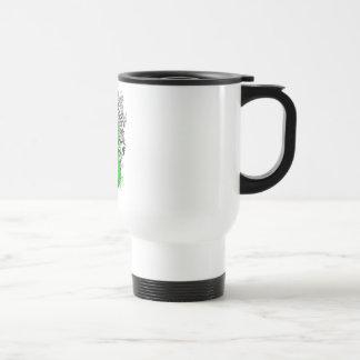 Kidney Cancer - Cool Support Awareness Slogan Mug