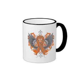 Kidney Cancer Cool Wings Mug