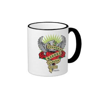 Kidney Cancer Dagger Ringer Coffee Mug