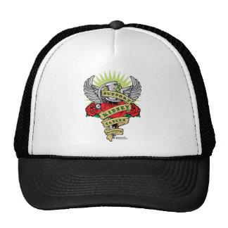 Kidney Cancer Dagger Trucker Hat