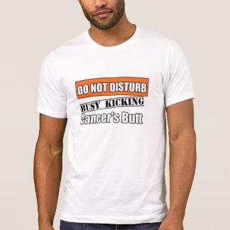 Kidney Cancer Do Not Disturb Kicking Butt Shirt