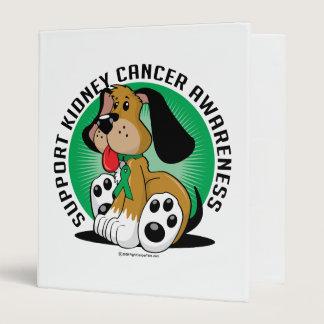 Kidney Cancer Dog 3 Ring Binder