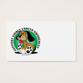 Kidney Cancer Dog Business Card