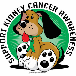 Kidney Cancer Dog Cut Out